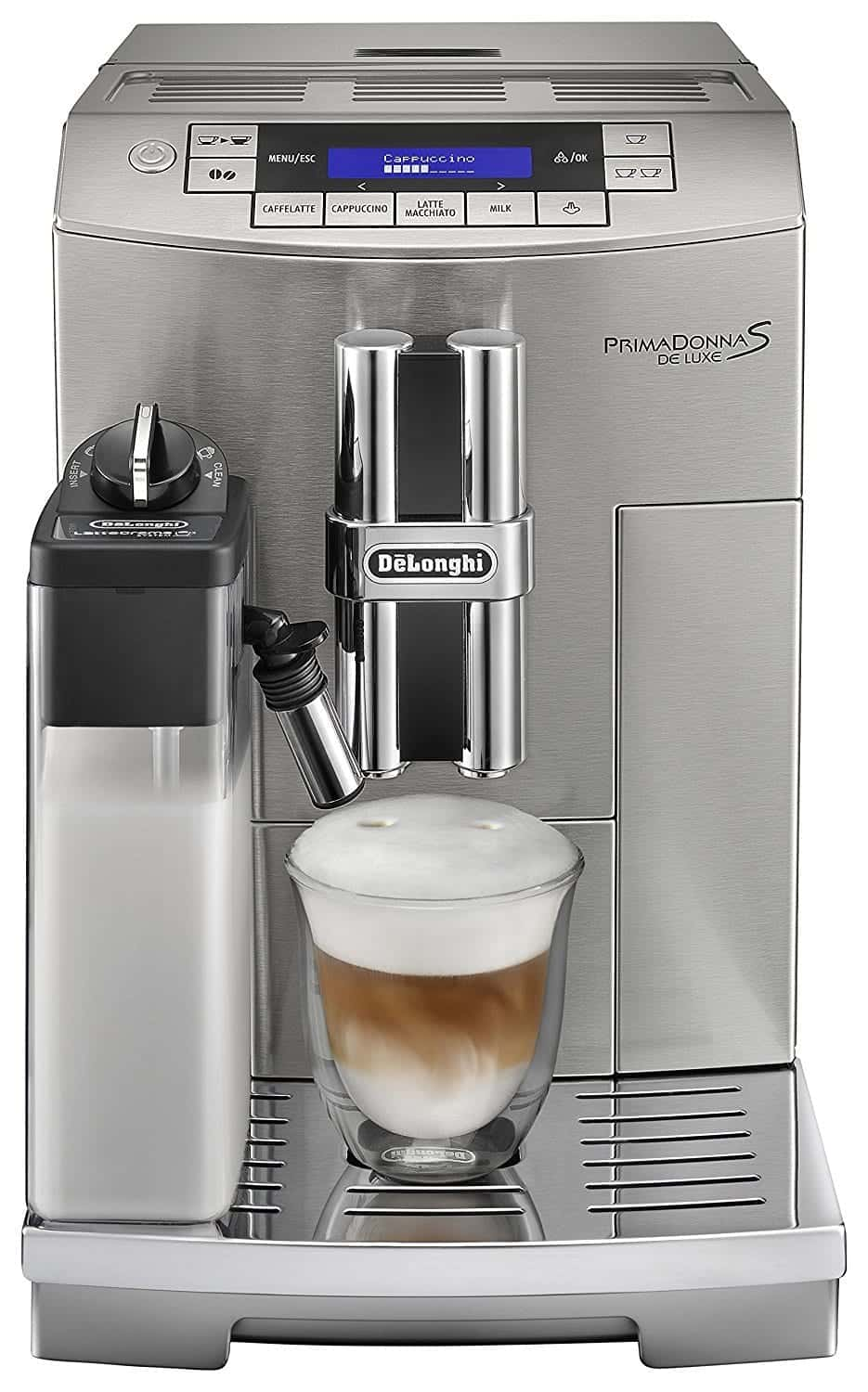 DeLonghi Prima Donna S Super Automatic Espresso Machine