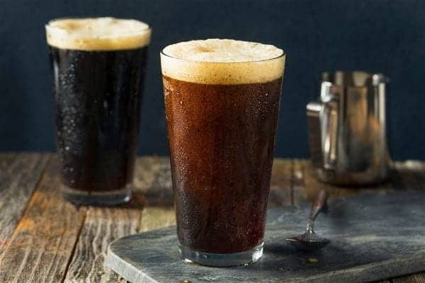 bubbly cold brew coffee