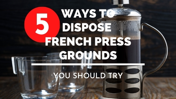how to dispose of french press grounds